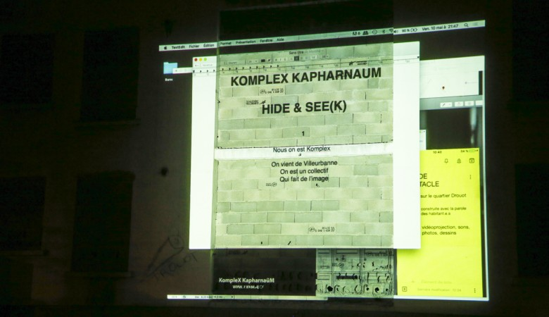 Hide&See(k) / First performance in Mulhouse